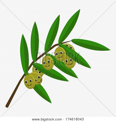 Olive Character Icon