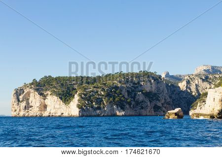 Calanques National Park View, France