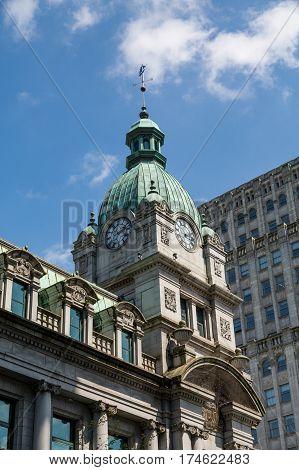 A Classic architecture in Victoria British Columbia