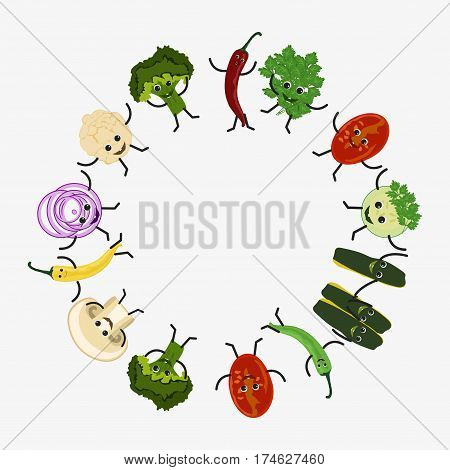 Dancing Vegetables Icon