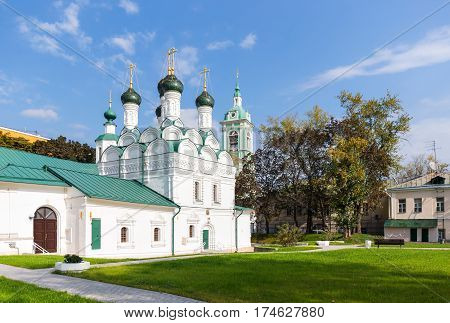 The Chernigov Martyrs church in Moscow Russia