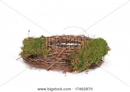 Isolated Photography Prop Bird Nest Background Muslin Backdrop (Insert your client)