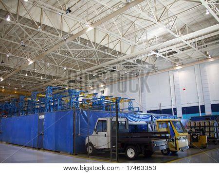 Inside Aerospace Production Facility Shipping