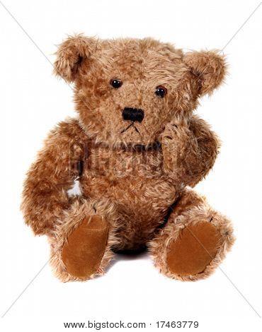 Adorable oso de peluche marrón