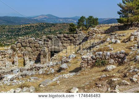 Mycenae is an archaeological site in Greece. In the second millennium BC Mycenae was one of the major centres of Greek civilization