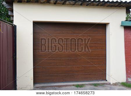 Garage Door Exterior. Garage Door & Garage Door Opener