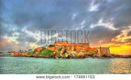 Sunset above the Kasbah of the Udayas in Rabat - Morocco