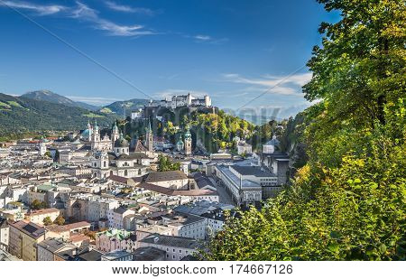 Historic City Of Salzburg, Salzburger Land, Austria