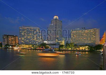 Dusk In Bangkok