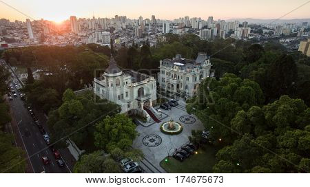 Sunset in Ipiranga, Sao Paulo, Brazil