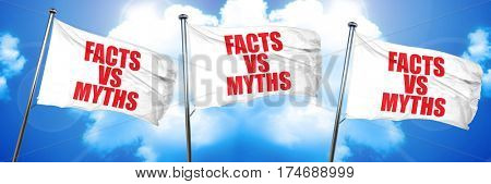 facts vs myths, 3D rendering, triple flags
