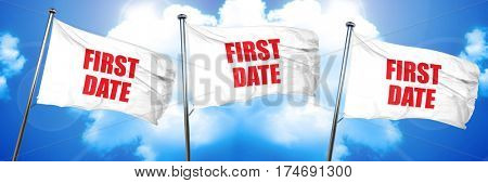 first date, 3D rendering, triple flags