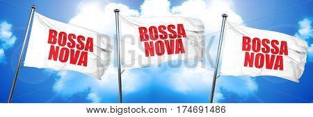 bossa nova, 3D rendering, triple flags