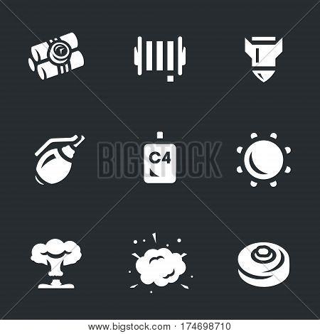 Dynamite, cable, bomb, grenade, trotyl, underwater mine, mushroom cloud, explosion, mine.
