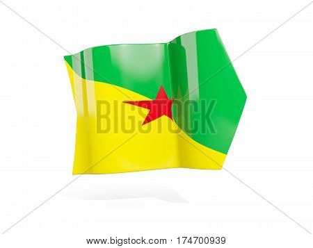 Arrow With Flag Of French Guiana