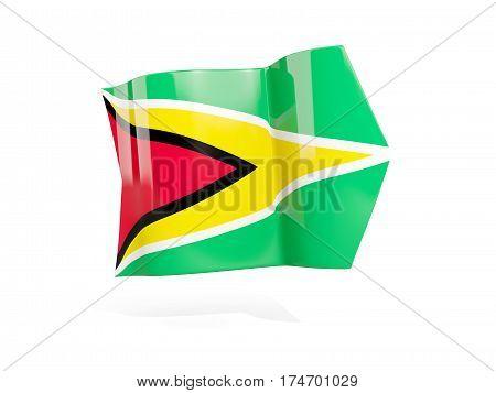 Arrow With Flag Of Guyana