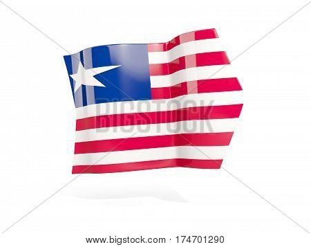 Arrow With Flag Of Liberia