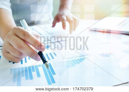 Business Analyse  Concept Idea Background.