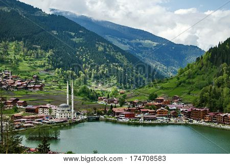 Uzungol - Lake In The North-eastern Part Of Turkey