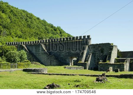 Nokalakevi - Fortress In The Western Part Of Georgia