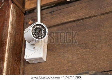 The Cctv Camera.