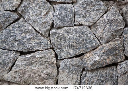 brick rock wall texture background close up