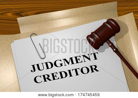 Judgment Creditor Concept