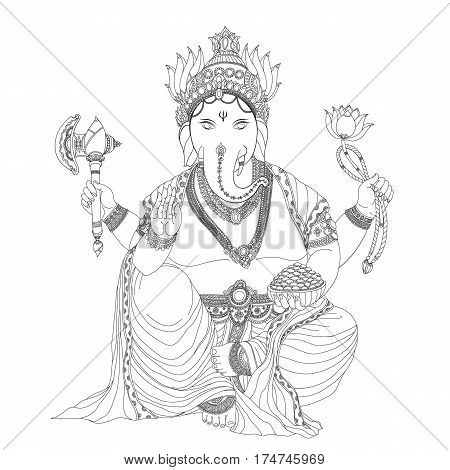 Ganesha is god of success.Ganesha is one of the best-known and most worshipped deities in the Hindu pantheon