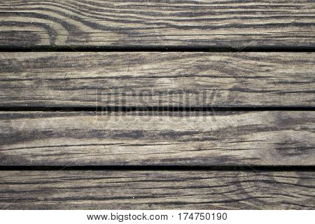 Subtle wood planks closeup. Rough lumber surface. Warm brown wooden background for vintage card. Timber texture closeup. Wooden board wallpaper or backdrop photo. Natural material banner template