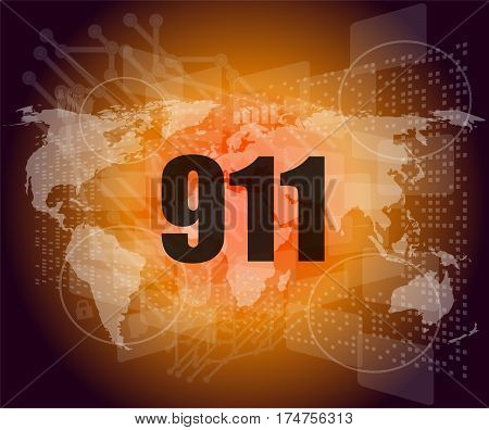 911 Words On Digital Touch Screen Interface
