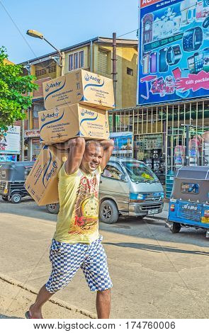 The Man With Boxes