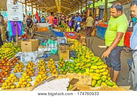 The Fruits In Fose Market