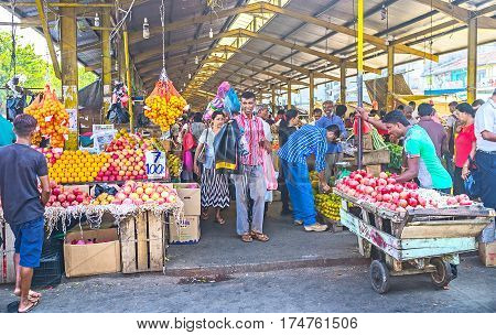 Covered Market In Colombo
