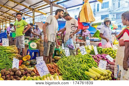 The Fresh Foodstuffs In Colombo