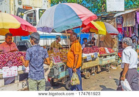 Fose Market In Pettah