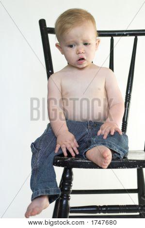 Boy On A Chair