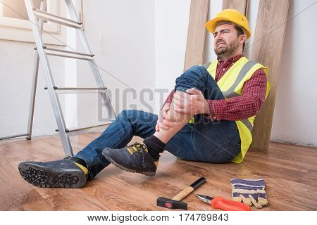 Painful Worker After On The Job Injury