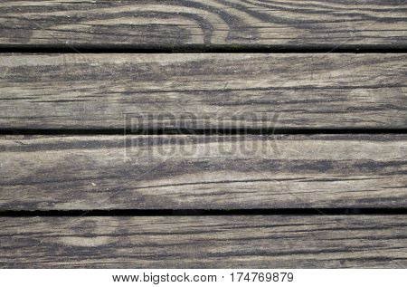 Vintage wood planks photo background. Rough timber table texture. Warm brown wooden backdrop for shabby chic design. Timber texture closeup. Rustic wooden table wallpaper or banner template