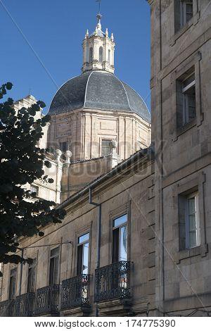 Salamanca (Castilla y Leon Spain): dome of the historic church known as Parroquia de la Purisima Concepcion