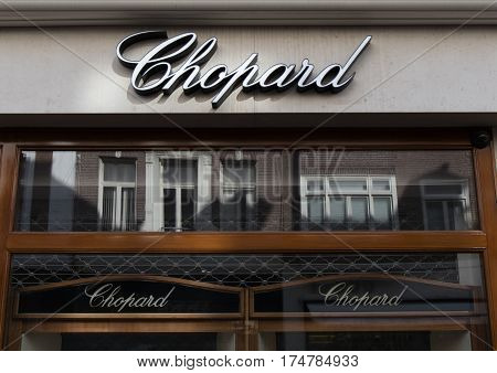 Chopard On A Store In Amsterdam