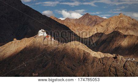 Namgyal Tsemo Monastery in Leh North india Ladakh region