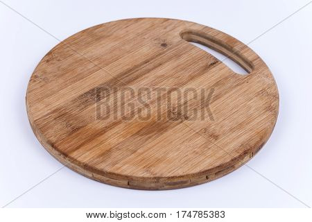 Old Round Wooden Cutting Board