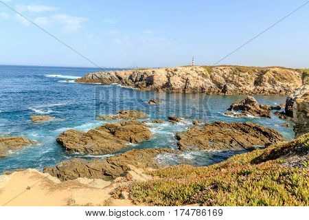 A view of the Alentejo coast in Porto Covo