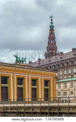 The Thorvaldsen Museum is a single-artist museum in Copenhagen Denmark dedicated to the art of Danish neoclassicistic sculptor Bertel Thorvaldsen