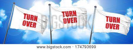 turnover, 3D rendering, triple flags