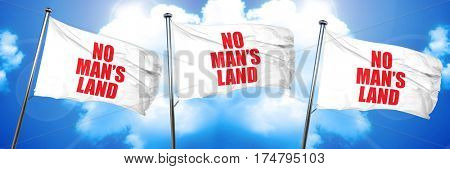 no mans land, 3D rendering, triple flags