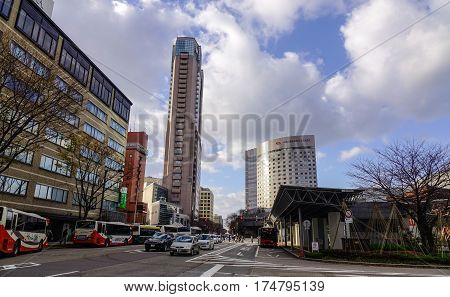 Cityscape Of Kanazawa, Japan