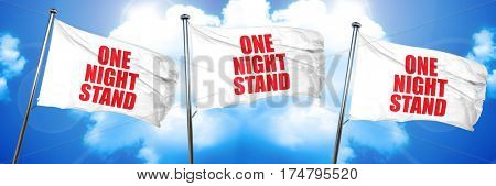 one night stand, 3D rendering, triple flags