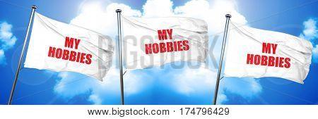 my hobbies, 3D rendering, triple flags