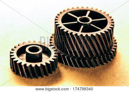 Mechanical Ratchets In Closeup